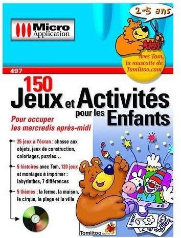 150 jeux et activites pour les enfants 2 5 ans pc jeux occasion pas cher gamecash. Black Bedroom Furniture Sets. Home Design Ideas