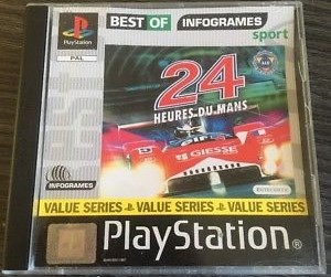 24 Heures Du Mans Best Of Infogrames Sport Psx Jeu Occasion Pas Cher Gamecash