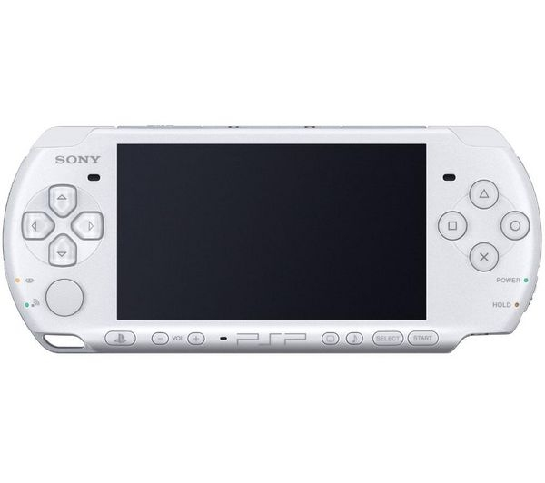 console psp 3000 slim lite blanche psp console occasion pas cher gamecash. Black Bedroom Furniture Sets. Home Design Ideas