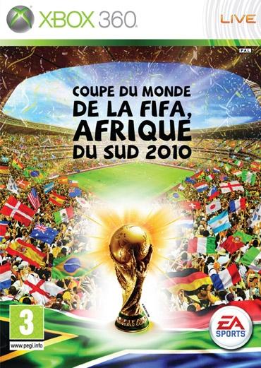 Coupe du monde de la fifa afrique du sud 2010 x360 jeux occasion pas cher gamecash - Coupe du monde foot afrique du sud ...