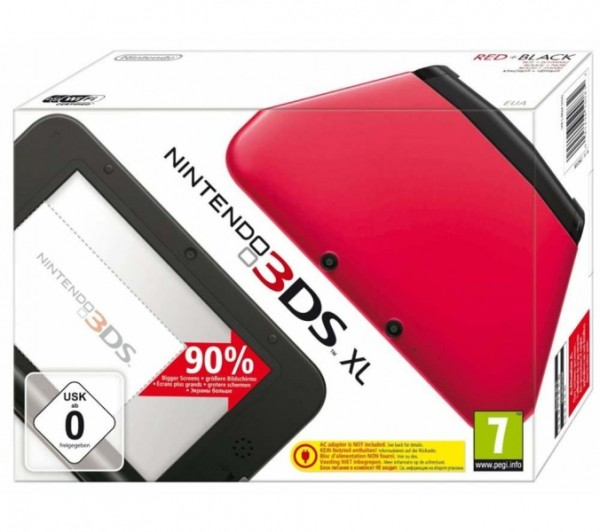 Console nintendo 3ds xl rouge noir 3ds console occasion pas cher gamecash - Console nintendo 3ds xl pas cher ...