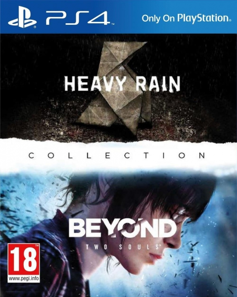 heavy rain beyond two souls collection ps4 jeux occasion pas cher gamecash. Black Bedroom Furniture Sets. Home Design Ideas