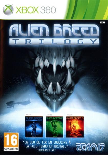alien breed trilogy x360 jeux occasion pas cher gamecash. Black Bedroom Furniture Sets. Home Design Ideas