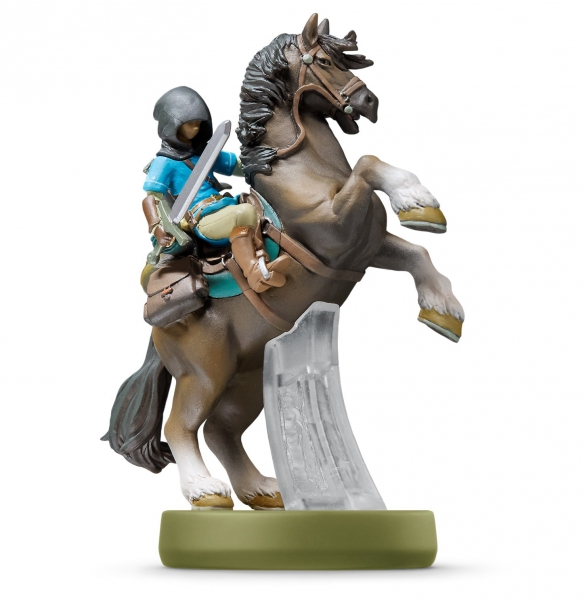 amiibo zelda breath of the wild link cheval swi. Black Bedroom Furniture Sets. Home Design Ideas