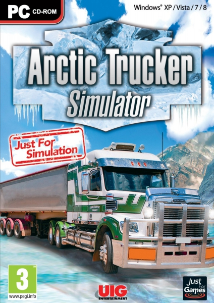 arctic trucker simulator pc jeux occasion pas cher gamecash. Black Bedroom Furniture Sets. Home Design Ideas