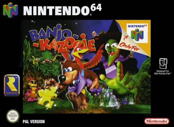 """Résultat de recherche d'images pour """"Banjo-Kazooie boîte"""""""