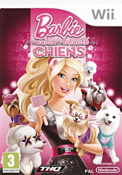 barbie et le salon de beaut des chiens wii jeux occasion pas cher gamecash. Black Bedroom Furniture Sets. Home Design Ideas