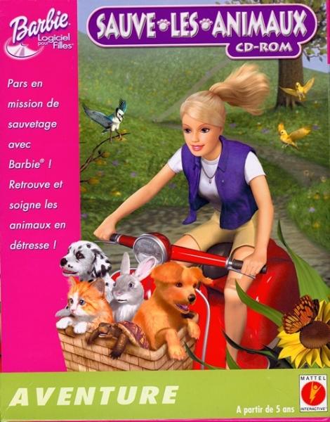barbie sauve les animaux pc jeux occasion pas cher gamecash. Black Bedroom Furniture Sets. Home Design Ideas