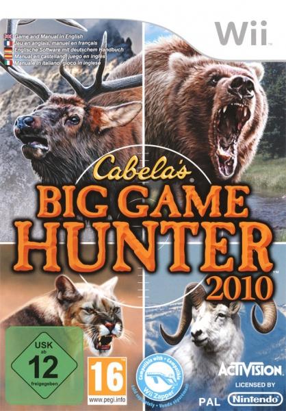 cabela 39 s big hunter 2010 wii jeux occasion pas cher gamecash. Black Bedroom Furniture Sets. Home Design Ideas