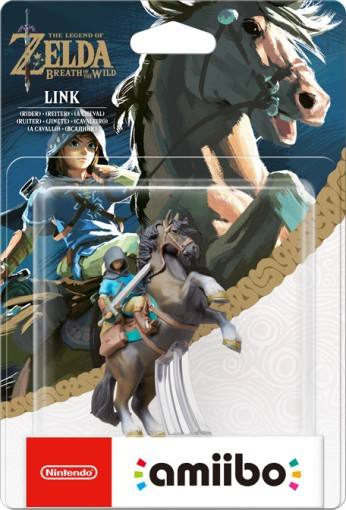 amiibo zelda breath of the wild link cheval en bo te. Black Bedroom Furniture Sets. Home Design Ideas