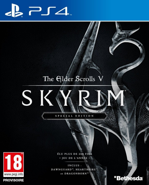 skyrim special edition ps4 jeux occasion pas cher gamecash. Black Bedroom Furniture Sets. Home Design Ideas