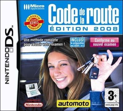 code de la route 2008 ds jeux occasion pas cher gamecash. Black Bedroom Furniture Sets. Home Design Ideas