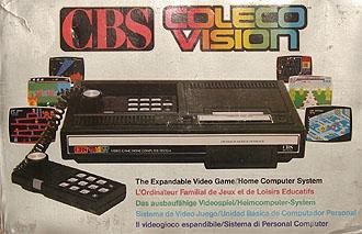 console cbs colecovision en bo te dr console occasion pas cher gamecash. Black Bedroom Furniture Sets. Home Design Ideas