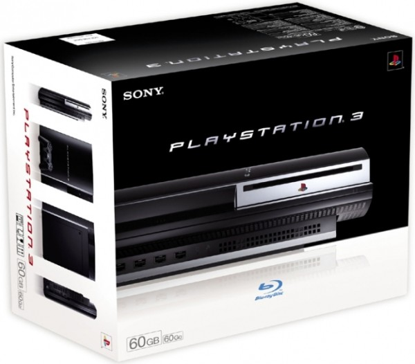 console playstation 3 60 go en bo te ps3 console. Black Bedroom Furniture Sets. Home Design Ideas