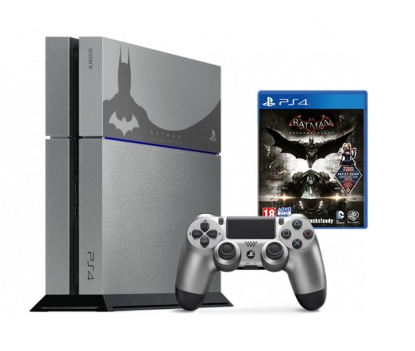 console playstation 4 500 go edition collector batman. Black Bedroom Furniture Sets. Home Design Ideas