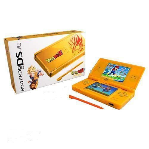 console ds lite orange edition dragon ball z ds console occasion pas cher gamecash. Black Bedroom Furniture Sets. Home Design Ideas