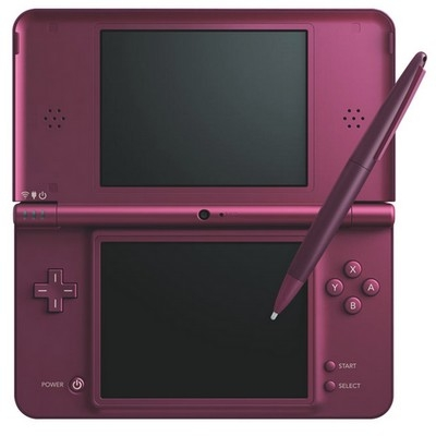 console nintendo dsi xl bordeaux ds console occasion pas cher gamecash. Black Bedroom Furniture Sets. Home Design Ideas