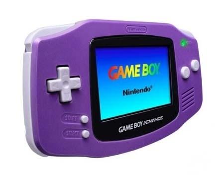 console game boy advance violette en bo te ga. Black Bedroom Furniture Sets. Home Design Ideas
