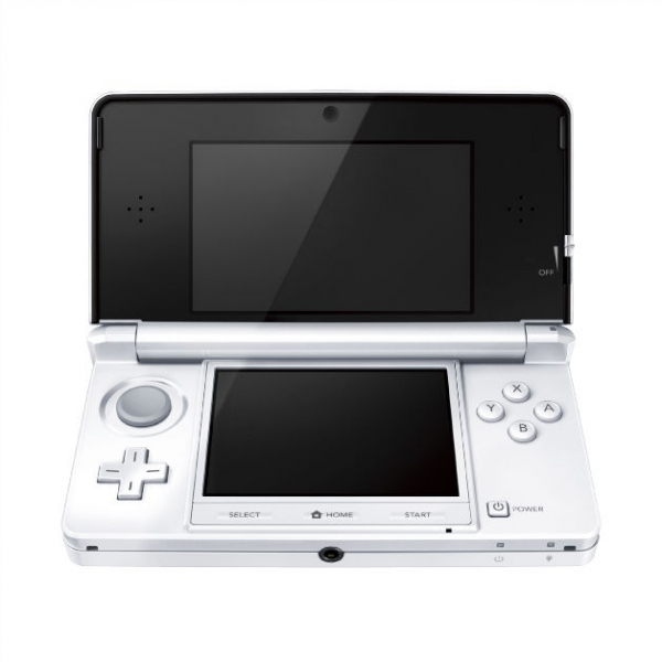 console nintendo 3ds ice white blanc arctique 3ds. Black Bedroom Furniture Sets. Home Design Ideas