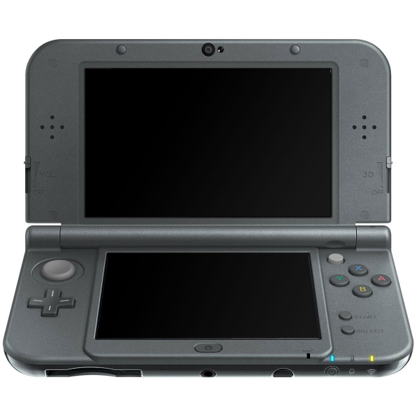 console new nintendo 3ds xl noire 3ds console occasion. Black Bedroom Furniture Sets. Home Design Ideas