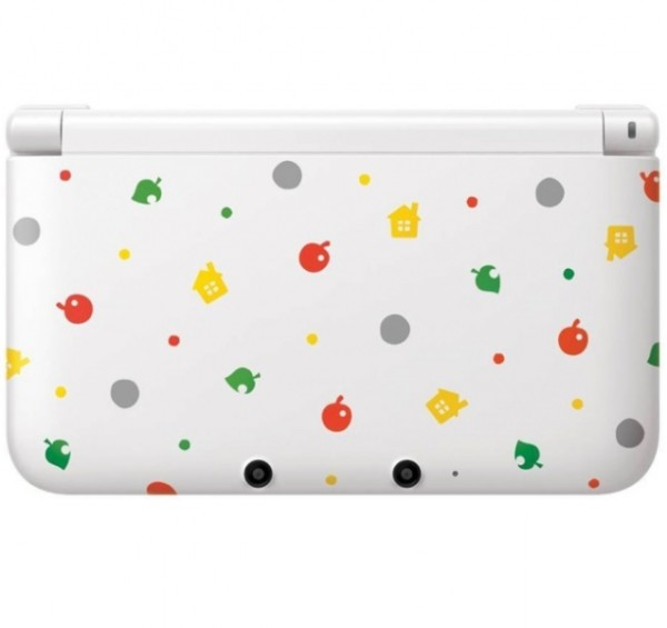 Console nintendo 3ds xl animal crossing special edition for 3ds xl occasion pas cher