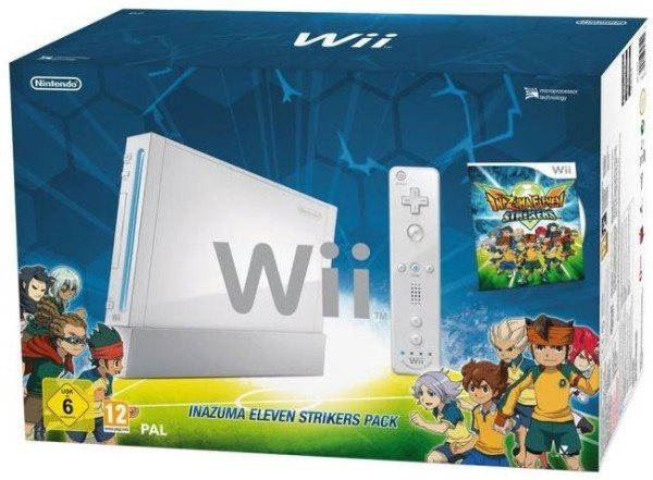 console wii et inazuma eleven strikers wii console occasion pas cher gamecash. Black Bedroom Furniture Sets. Home Design Ideas