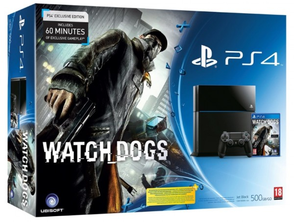 console playstation 4 500 go watch dogs ps4 console occasion pas cher gamecash. Black Bedroom Furniture Sets. Home Design Ideas