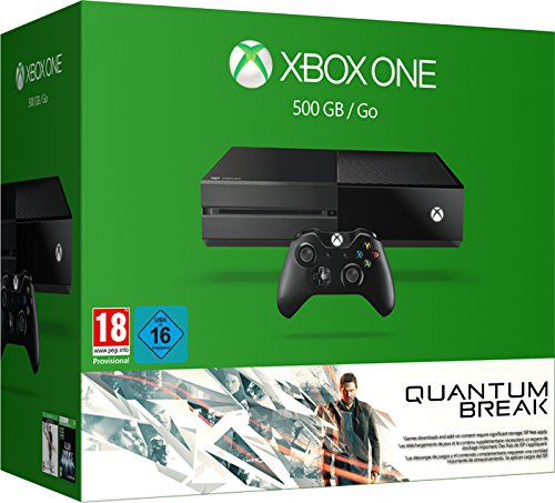 console xbox one 500 go quantum break xone console. Black Bedroom Furniture Sets. Home Design Ideas