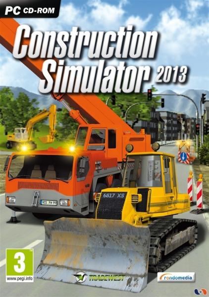construction simulator 2013 just for gamers pc jeux occasion pas cher gamecash. Black Bedroom Furniture Sets. Home Design Ideas