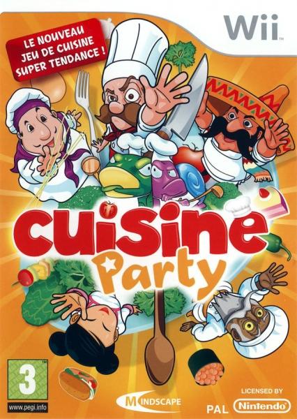 Cuisine party wii jeux occasion pas cher gamecash - Jeux de cuisine en francais ...