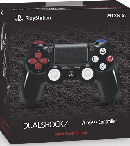 manette dualshock 4 dark vador edition en boite ps4 accessoire occasion pas cher gamecash. Black Bedroom Furniture Sets. Home Design Ideas