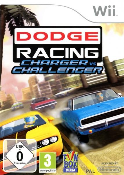 dodge racing charger vs challenger wii jeux occasion pas cher gamecash. Black Bedroom Furniture Sets. Home Design Ideas