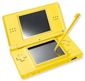 console ds lite jaune ds console occasion pas cher gamecash. Black Bedroom Furniture Sets. Home Design Ideas