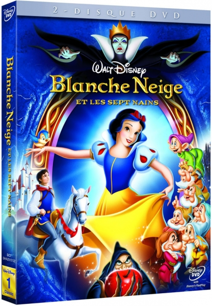 blanche neige et les sept nains walt disney dvd jeux. Black Bedroom Furniture Sets. Home Design Ideas