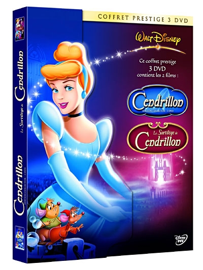 Cendrillon et le sortilege de cendrillon dvd jeux - Image cendrillon walt disney ...
