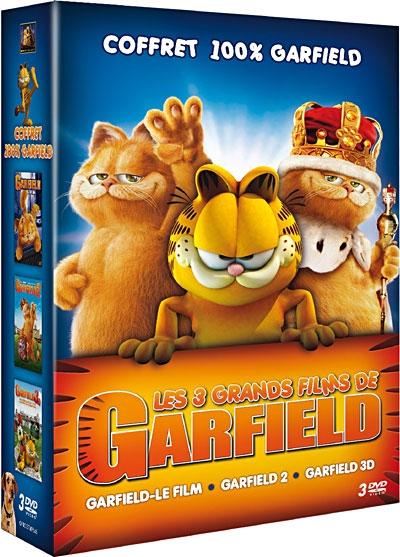 Garfield Le Film Et Garfield 2 Et Garfield 3d Dvd Jeu Occasion Console Occasion Pas Cher Gamecash