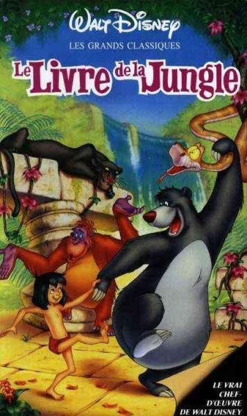 le livre de la jungle walt disney dvd jeux occasion. Black Bedroom Furniture Sets. Home Design Ideas