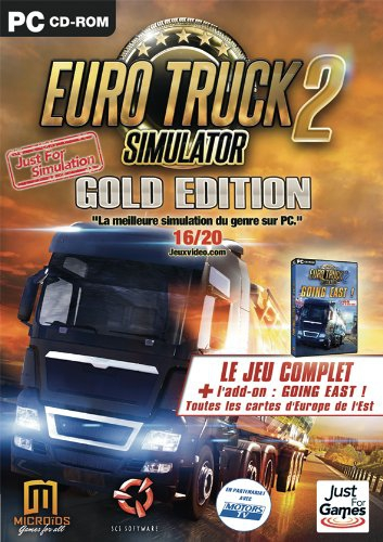euro truck simulator 2 gold edition just for gamers pc jeux occasion pas cher gamecash. Black Bedroom Furniture Sets. Home Design Ideas