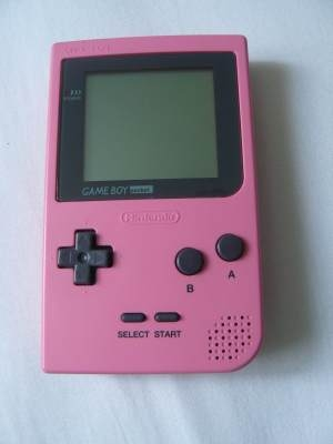 console game boy pocket rose gb console occasion pas