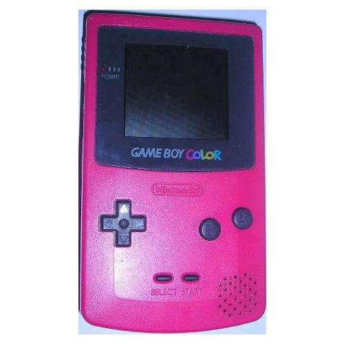 console game boy color rose gb console occasion pas. Black Bedroom Furniture Sets. Home Design Ideas