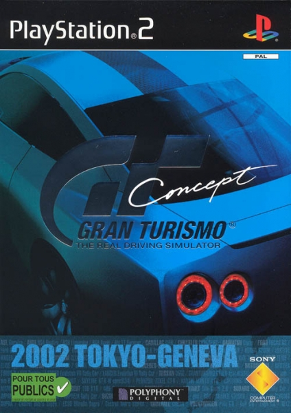 gran turismo concept 2002 tokyo geneva ps2 jeux occasion pas cher gamecash. Black Bedroom Furniture Sets. Home Design Ideas