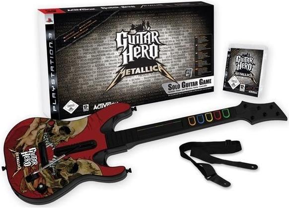 guitar hero metallica et guitare ps3 jeux occasion pas cher gamecash. Black Bedroom Furniture Sets. Home Design Ideas