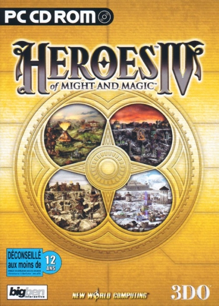 heroes of might and magic iv pc jeux occasion pas cher gamecash. Black Bedroom Furniture Sets. Home Design Ideas