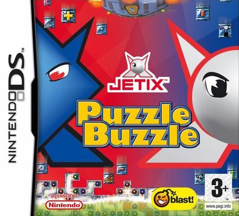 jetix puzzle buzzle ds jeux occasion pas cher gamecash. Black Bedroom Furniture Sets. Home Design Ideas