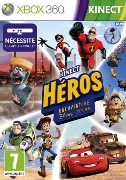 kinect h ros une aventure disney pixar x360 jeux occasion pas cher gamecash. Black Bedroom Furniture Sets. Home Design Ideas