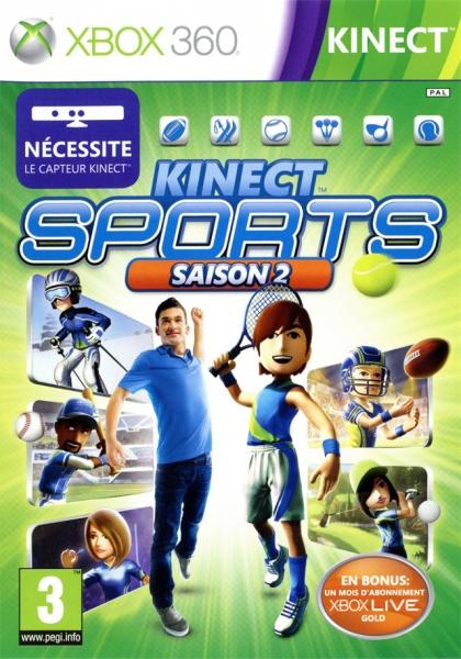 kinect sports saison 2 x360 jeux occasion pas cher gamecash. Black Bedroom Furniture Sets. Home Design Ideas