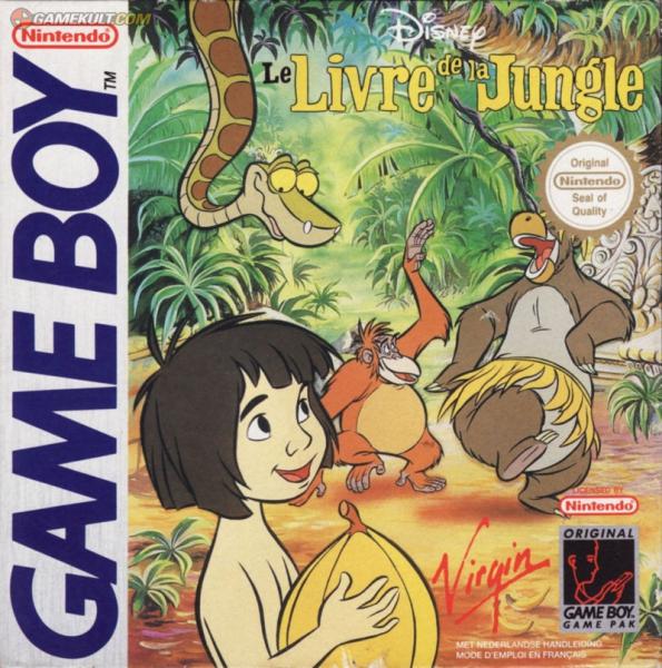le livre de la jungle gb jeux occasion pas cher gamecash. Black Bedroom Furniture Sets. Home Design Ideas