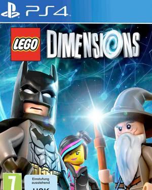 lego dimensions jeu seul ps4 jeux occasion pas cher. Black Bedroom Furniture Sets. Home Design Ideas