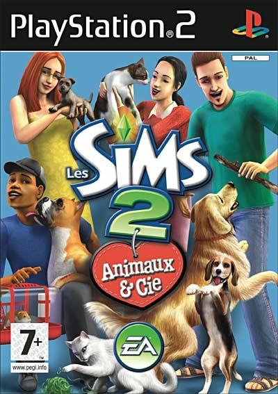 Les Sims 2 : Animaux & cie - PS2 - Jeux Occasion Pas Cher