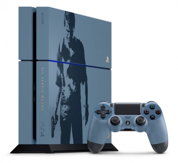 console playstation 4 1 to edition limit e uncharted 4. Black Bedroom Furniture Sets. Home Design Ideas